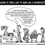 Imagine if Apple had to run like a nonprofit