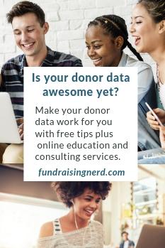 fundraising nerd ad